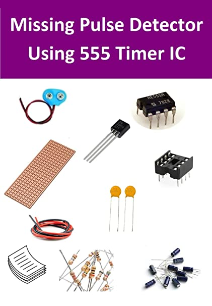 Amazon.com: INVENTIONS Pack of 10 Kits x Missing Pulse Detector Using 555 Timer IC: Toys & Games
