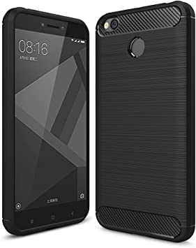 German Tech Elite Carbon - Carcasa TPU para Xiaomi Redmi 4X, Color ...