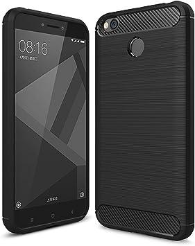 German Tech Elite Carbon - Carcasa TPU para Xiaomi Redmi 4X, Color ...