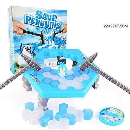 Juego de Mesa Fighting DIY for Salvar el Hielo Pingüino vence al ...