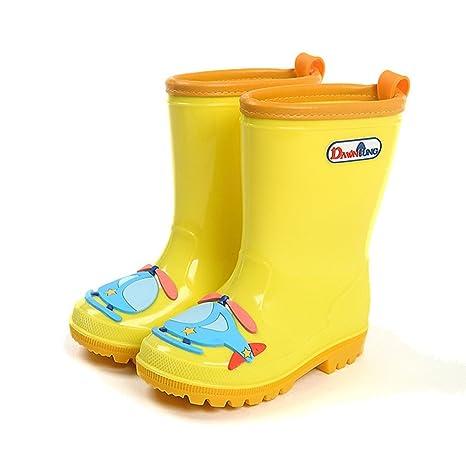 20abcceaf Botas de Lluvia para Niños Niños Chicas Zapatos Impermeables Antideslizante