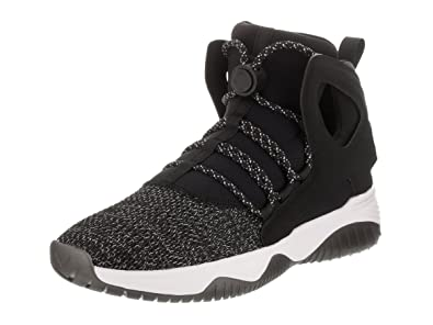 9713d5300e5f Nike Kids Air Flight Huarache Ultra (GS) Black Black White Volt Basketball  Shoe 5.5 Kids US  Amazon.ca  Shoes   Handbags