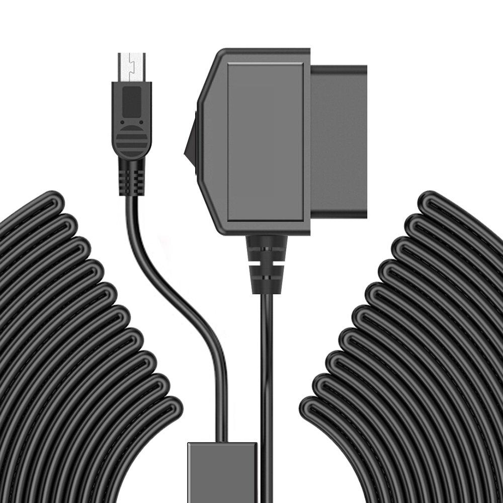 AWESAFE Upgrade OBD hardwire kit Mini/Micro USB Hard Wire 12V-36V Car on