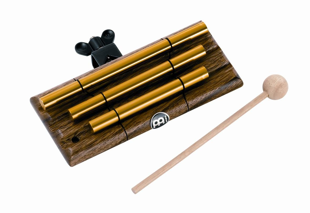 Meinl Percussion CH3 Mountable Free Floating Chimes, 3 Bars Meinl USA L.C.