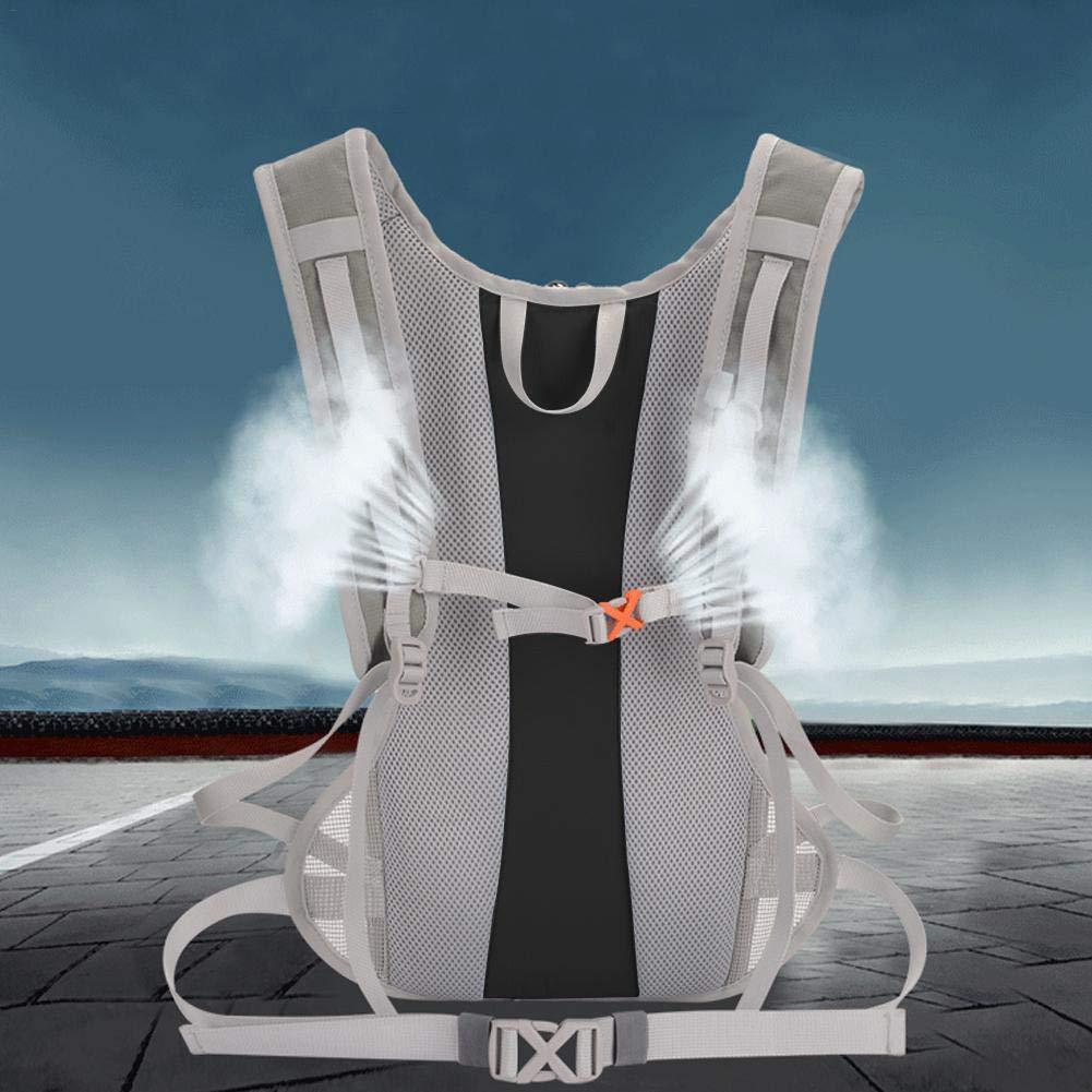 Mochila de hidrataci/ón Bloomma Sport mochila de agua con vejiga de agua 2L perfecta para correr ciclismo de monta/ña escalada
