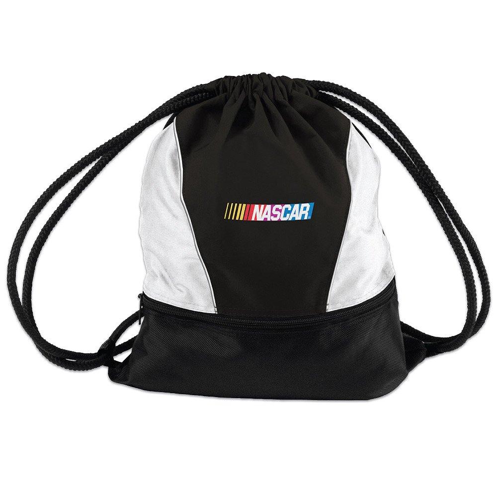 good NASCAR Logo Drawstring Backpack