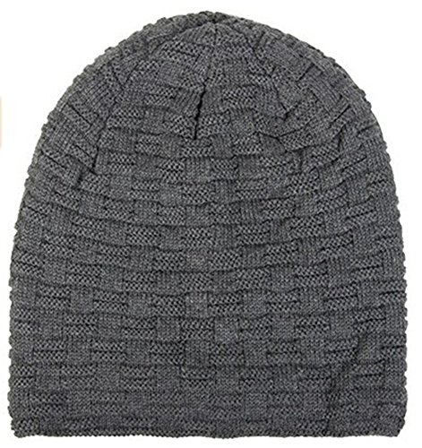 warme Feinstrick Beanie Mütze mit Flecht Muster und sehr weichem ...