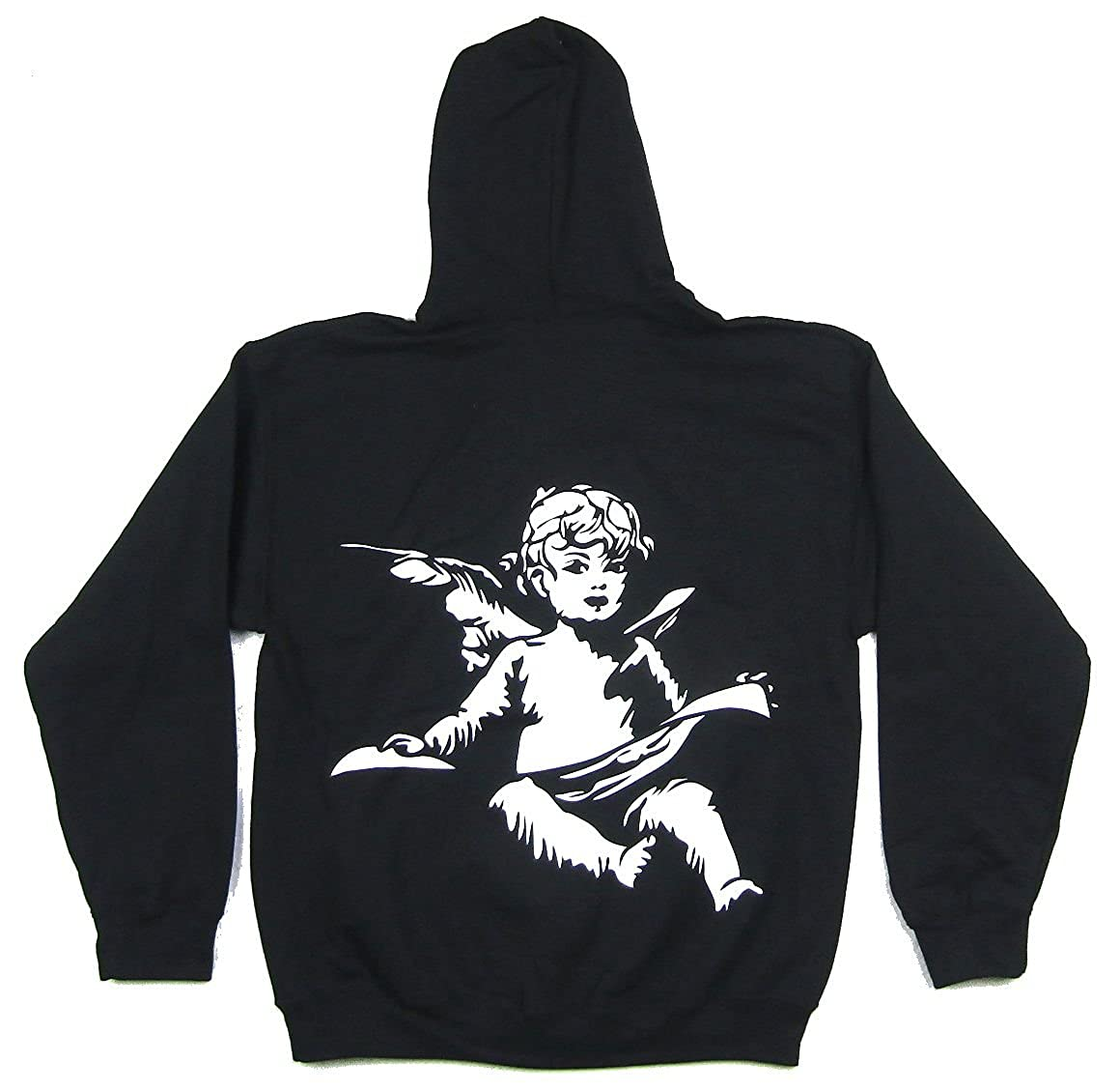Good Music Angel Pull Over Sweatshirt Hoodie