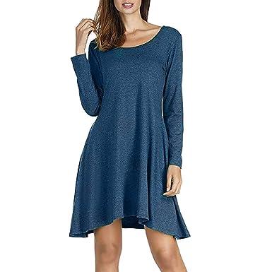 b6038cf9a1475 Vestidos Camisa de Mujer Fiesta