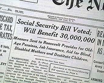 Amazon.com: SOCIAL SECURITY ACT Bill Ratification Passes ...