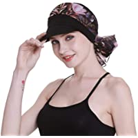 451988cc Newsboy Cap for Women Chemo Headwear with Scarfs Gifts Hair Loss Available  All Year