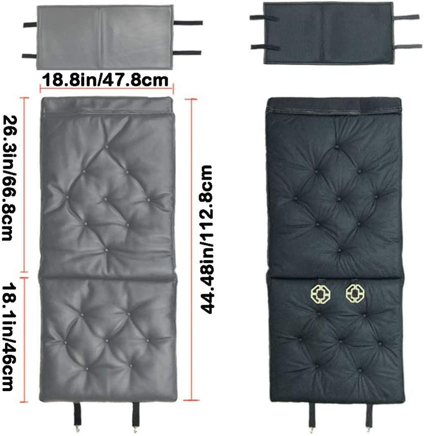 Seat Cover pad Mat for Auto Supplies Office Chair 1PC Gray Big Ant Car Seat Cushion Soft Leather Car Seat Pad Protector Universal Four Seasons