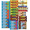 Healthy Snacks, Variety Pack, Breakfast Bars, Including Nature Valley, Belvita, Goodness Knows, Clif, Nutri Grain and Fiber One