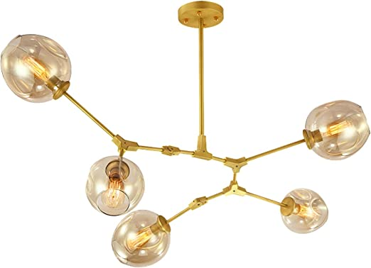 Maniny Post-Modern LED Glass Bubble Chandeliers Ideas simples 5 ...
