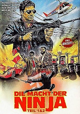 Die Macht der Ninja Teil 1+2 - Uncut [Alemania] [DVD ...