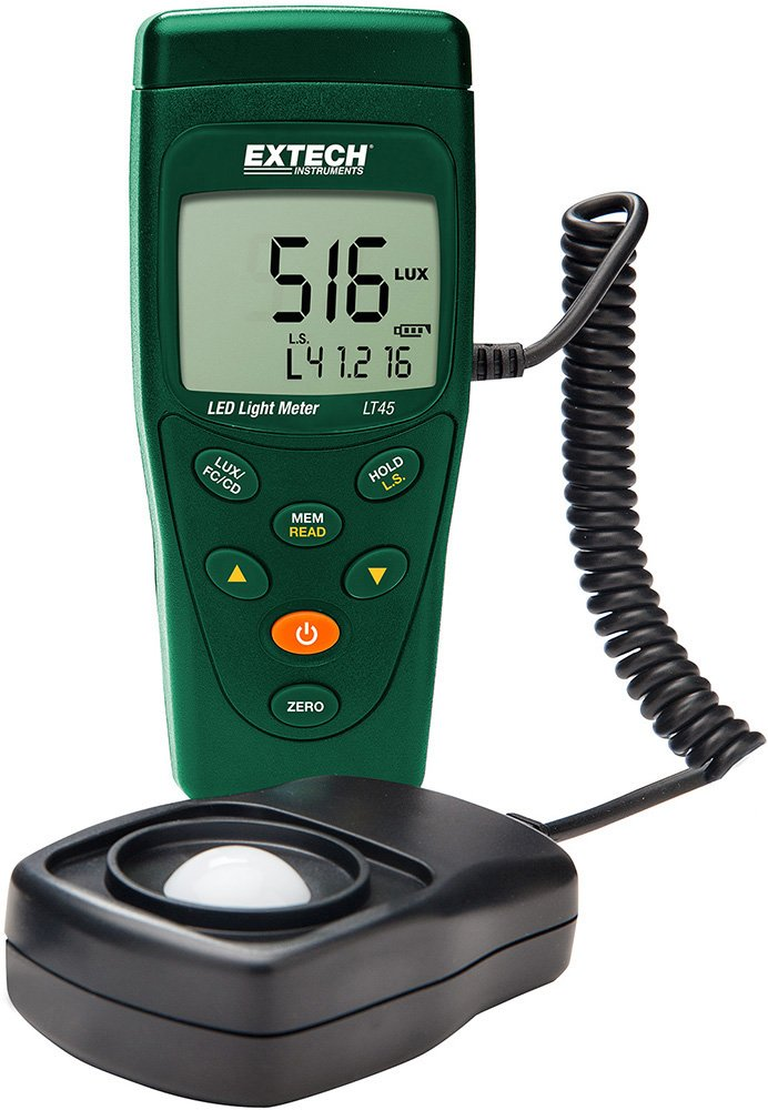 Extech LT300-NIST Light Meter with NIST