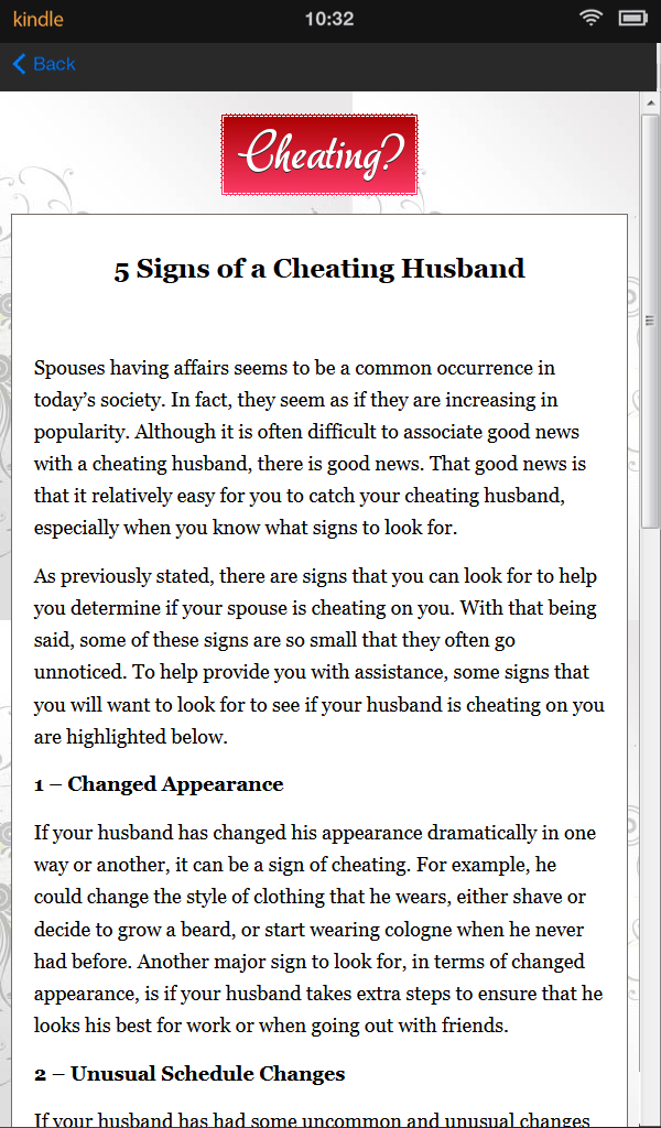 what to do when you catch your wife cheating