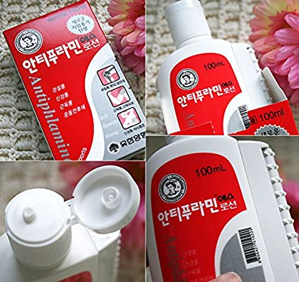 Yuhan Antiphlamine Massage Lotion immediate Aches Muscle Pain Relief Oil x (100ml)