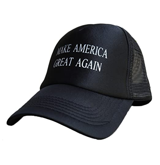 c6ef15392b3 Villy Make America Great Adjustable Unisex Hat - 2016 Campaign Cap Hat Mesh  Baseball Cap (