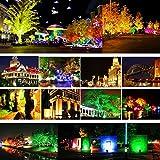 50W RGB Flood Lights, T-SUNRISE Outdoor Color