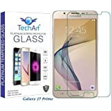 Samsung Galaxy J7 Prime Tempered Glass Screen Protector [FLEXIBLE Glass Series] Designed By TechArt®