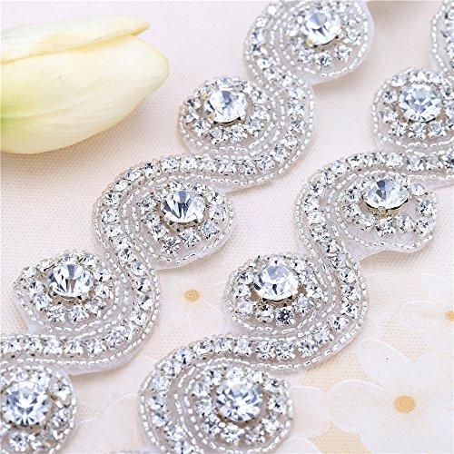 bridal dress with swarovski crystals - 8