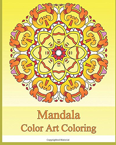 Color Art Coloring Book: 50 Graphic Design, Easy Designs for Meditation, Stress Relieving, Coloring For Relax and Calm Your Mind