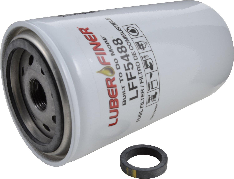 6 Pack Luber-finer LFF5488-6PK Heavy Duty Fuel Filter