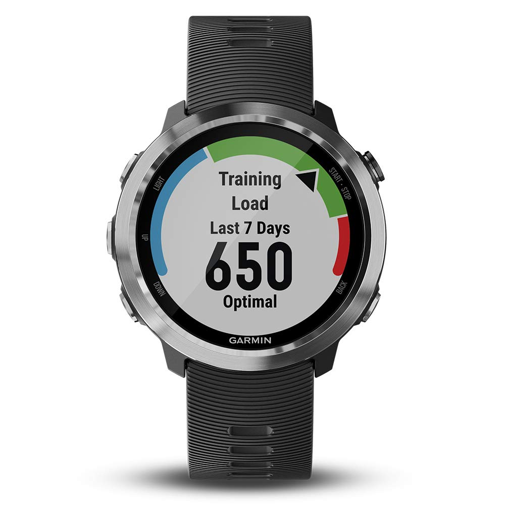 Garmin Forerunner 645 Bundle with Extra Band & HD Screen Protector Film (x4) | Running GPS Watch, Wrist HR, LiveTrack, Garmin Pay (Stainless, White) by PlayBetter (Image #3)