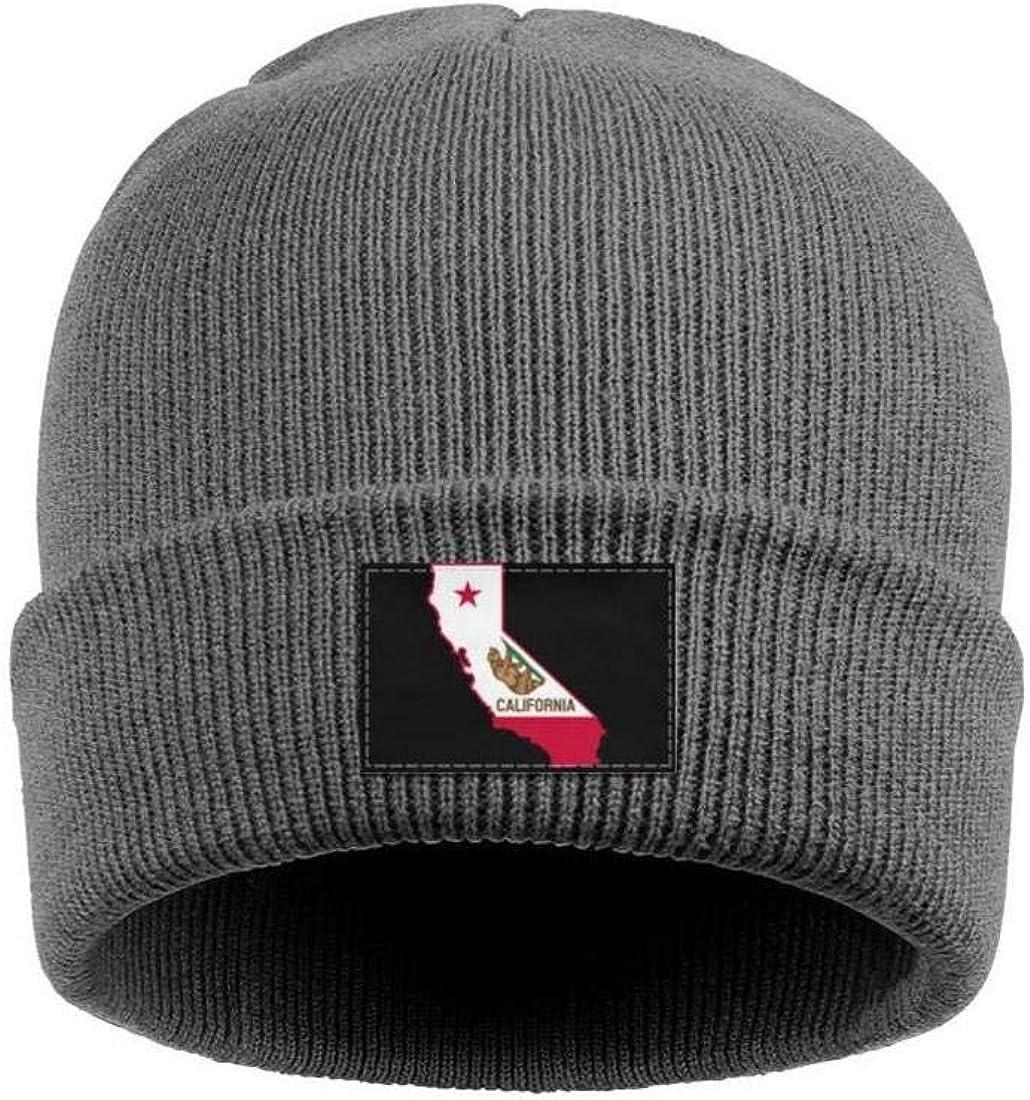 FYFYOK Mens Slouchy Beanie Hat Winter Hats California Bear Stretchy Cap