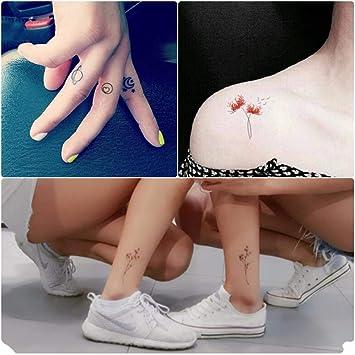 60 pegatinas de tatuajes para hombres y mujeres impermeables ...
