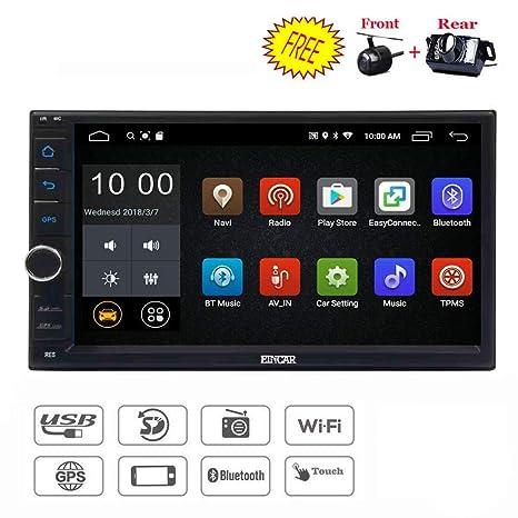 Amazon.com: EINCAR - Radio estéreo para coche con doble Din ...
