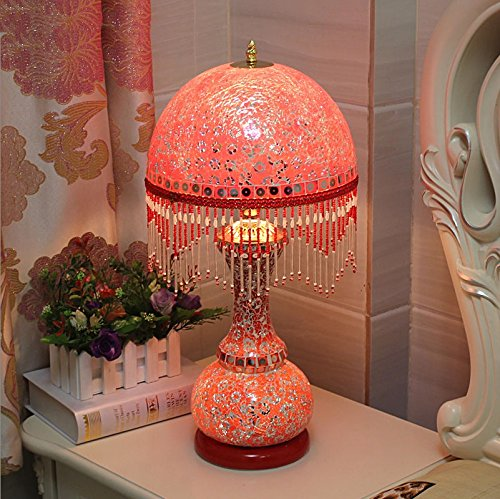 HH European Style Table Lamp Bedroom Bedside Creative Luxury Lighting by FJB (Image #4)