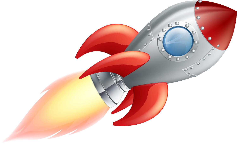 wandmotiv24 Adhesivos de Pared Cohete Rojo M - Medio 97x58cm ...