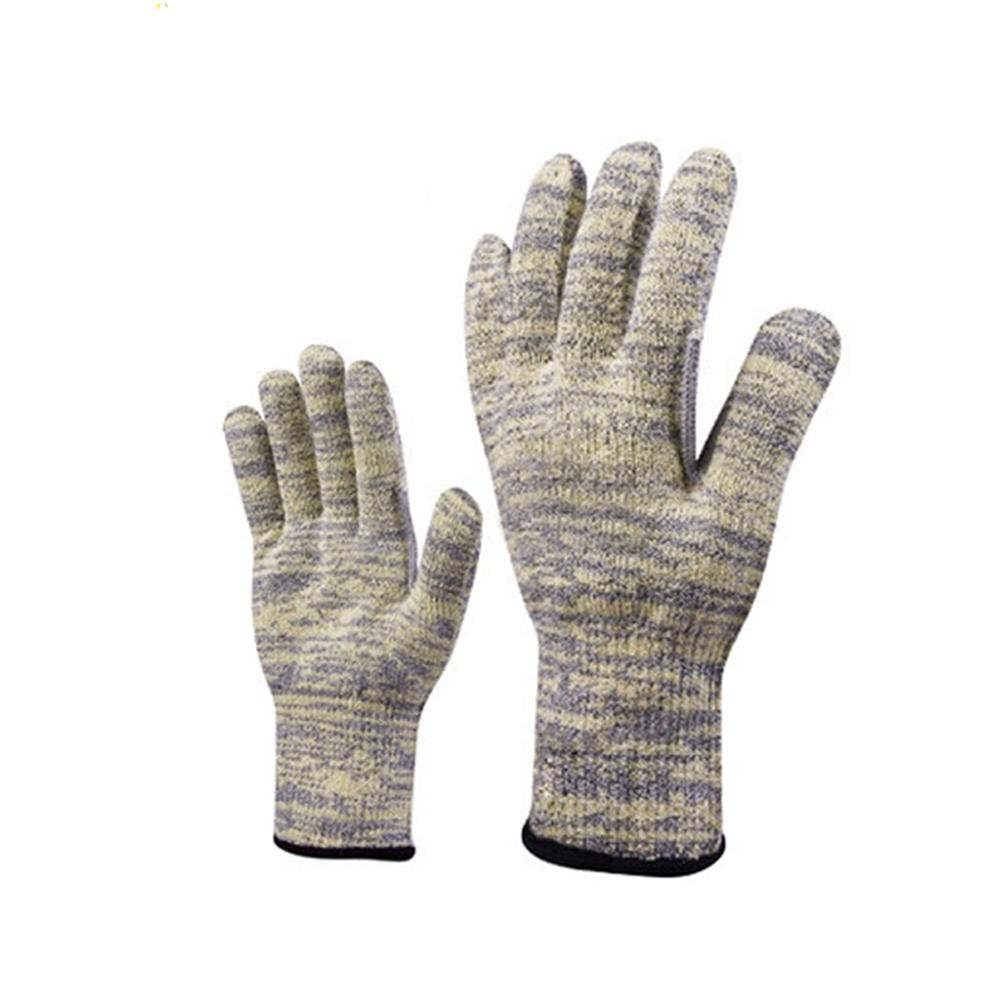 Anti - cutting gloves anti - tear labor insurance work gloves 5 thumb to strengthen the anti - cutting security products , l by LIXIANG