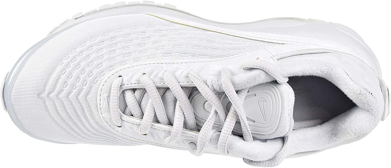 Nike W AIR MAX Deluxe SE Sneaker Damenschuhe aus weißem AT8692-002-Stoff Pure Platinum Pure Platinum