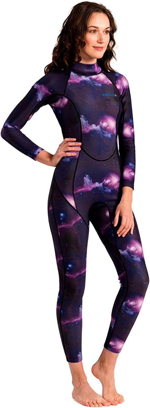 Scubadonkey Night Dip 3mm Neoprene Women/'s Wetsuit