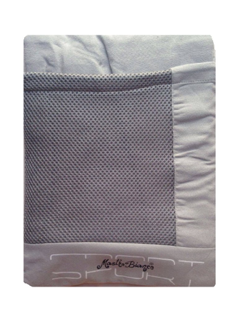 Telo Asciugamano Mare Piscina in Microfibra con Borsetta 85x170 Mastro Bianco (Arancione)