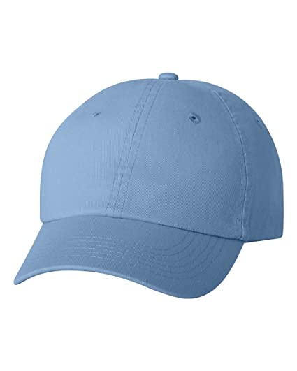 Valucap VC300Y - Youth Bio-Washed Unstructured Cap Baby Blue at ... 6338bfd87685