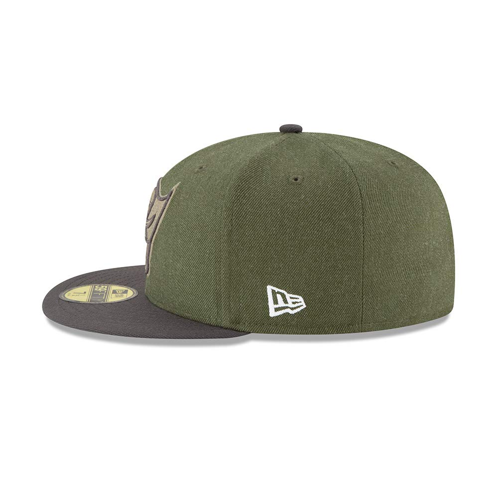 New Era Tampa Bay Buccaneers On Field 18 Salute to Service Cap 59fifty 5950 Fitted Limited Edition
