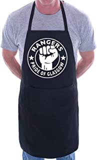 Mesllings Pride Of Glasgow Rangers BBQ Novelty Cooking Apron
