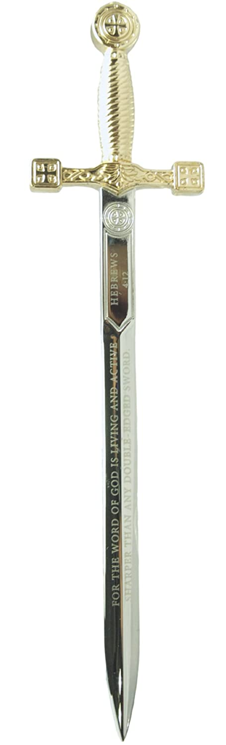 Letter Opener-Double Edged Sword (Hebrews 4:12) Revelation Products 8.51E+11