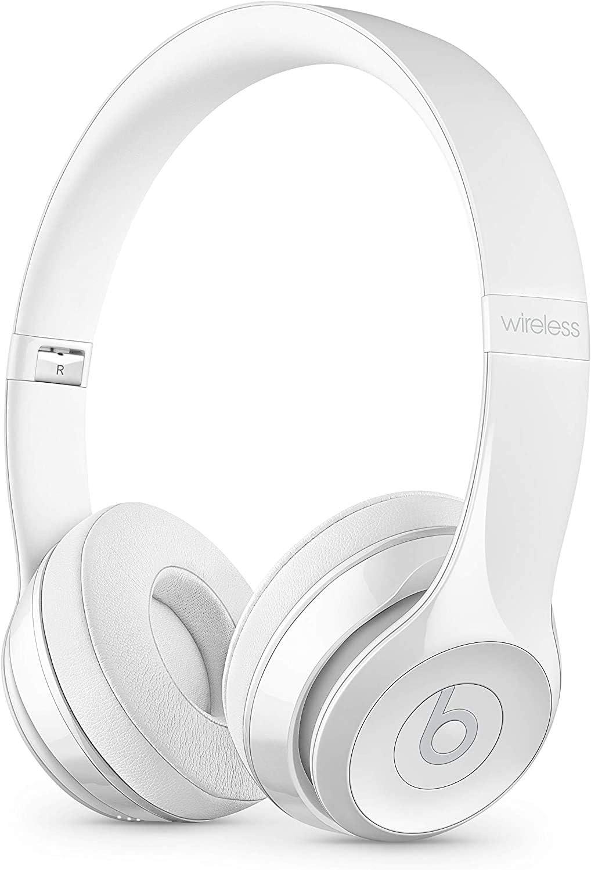Beats by Dr. Dre - Beats Solo3 Wireless On-Ear Headphones - Gloss White (Renewed)