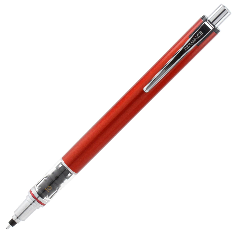 Uni Portaminas, Kuru Toga Advance, 0,5 mm, Rojo (M55591P.15)