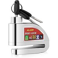 YOHOOLYO Candado de Disco con Alarma 6mm 110DB