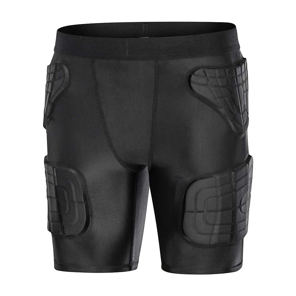 dgxinjunパッド入り圧縮シャツChestプロテクターパルクールExtreme練習Suit for Boys B078S2VS5W Youth Padded Short YM(Chest:24-26Inch) YM(Chest:24-26Inch)|Youth Padded Short