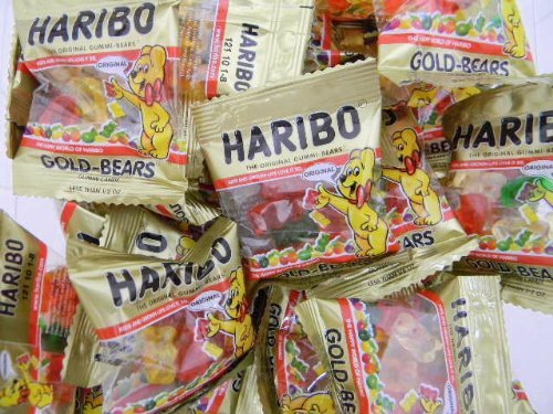 Haribo Gummi Bears 72CT Bag]()