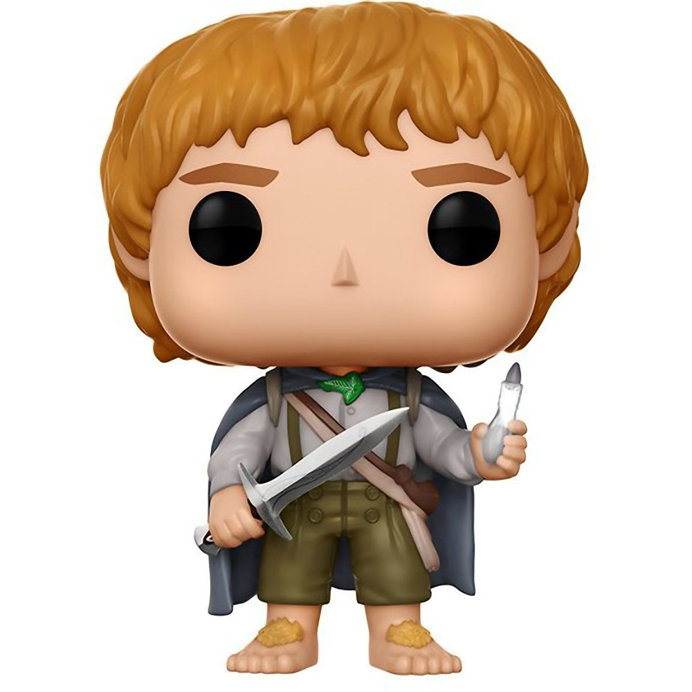 Compatible PET Plastic Graphical Protector Bundle Samwise Gamgee: Lord of The Rings x Funko POP #445 // 13553 - B Movies Vinyl Figure /& 1 POP