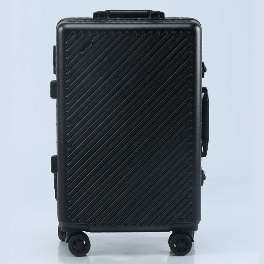 スーツケースビジネススーツケースパスワードスーツケースサイレントキャスタートロリーケースツイルアルミフレームをシャーシに(fenmei),C,24inches 24inches C B07R1LHXJ9