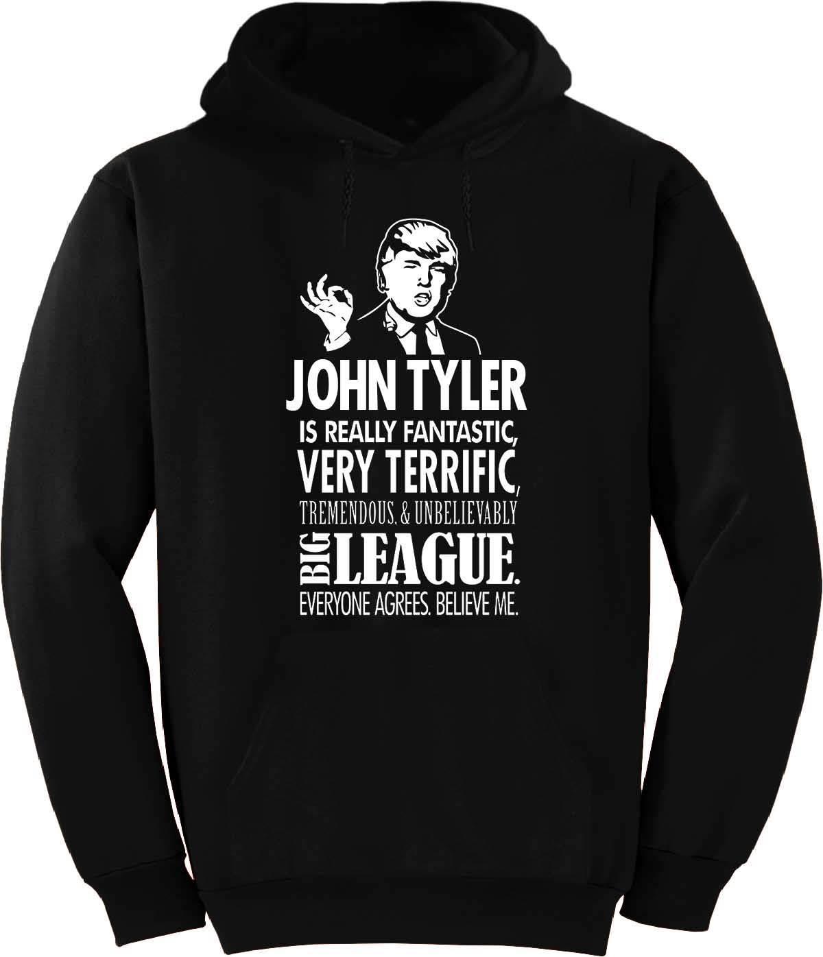 John Tyler Trump Big League Terrific T Shirt 2848